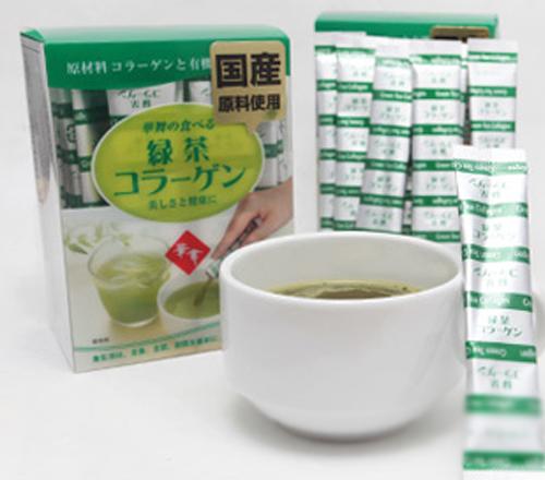 Hanamai collagen tinh chất trà xanh từ Nhật Bản