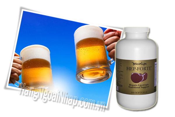 Thuốc Bổ Gan Hộp 500 Viên Của Mỹ Hep Forte Dietary Supplement