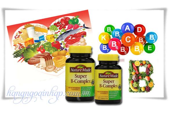Viên Uống Bổ Sung Vitamin B Nature Made Super B Complex 60 Viên Của Mỹ