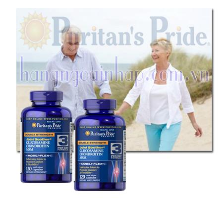 Glucosamine Chondroitin MSM Puritan's Pride Hộp 120 viên