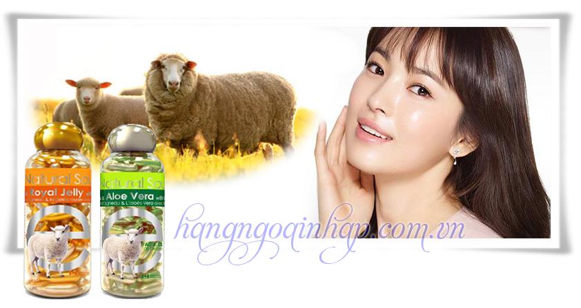 Viên Bôi Nhau Thai Cừu Bill Placenta  Của Canada 100 Viên