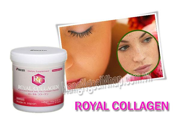 Viên Nhai Trị Nám Da Tàn Nhang Royal Collagen Của Nhật Bản Hộp 180 Viên