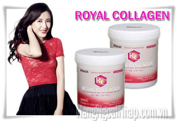 Viên Nhai Trị Nám Da Tàn Nhang Royal Collagen Của Nhật Bản