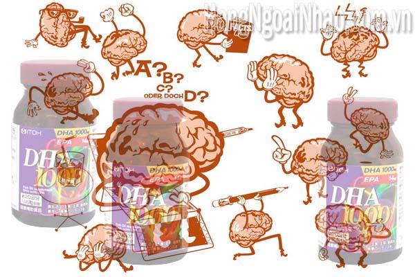 Viên Uống Bổ Não Của Nhật Dha 1000mg Epa 14mg Itoh 120 Viên