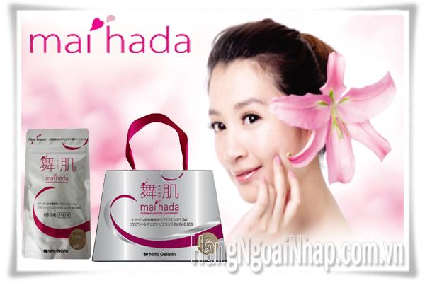 Viên Uống Nitta Gelatin Inc Maihada Collagen  Của Nhật Bản Gói 180 Viên