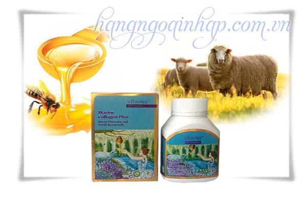 Viên Uống Đa Năng Marine Collagen Plus Vitatree  Của Úc Hộp 100 Viên