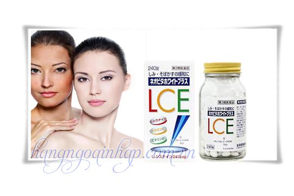 Viên uống trị nám, tàn nhang và làm trắng da White Plus L.C.E