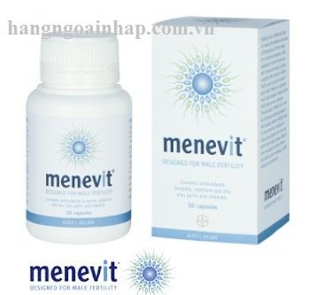 Vitamin hỗ trợ cho đàn ông Menevit Bayer của Úc