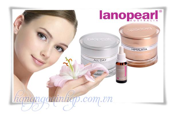 Bộ Sản phẩm trị nám làm trắng da Lanopearl Himalaya Whitening Gift Set 125ml