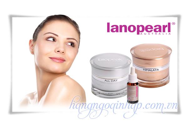 Bộ Trị Nám Làm Trắng Da Lanopearl Himalaya Whitening Gift Set Của Úc