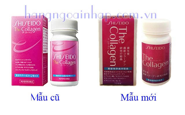 Collagen Shiseido Dạng Viên Của Nhật Hộp 126 Viên