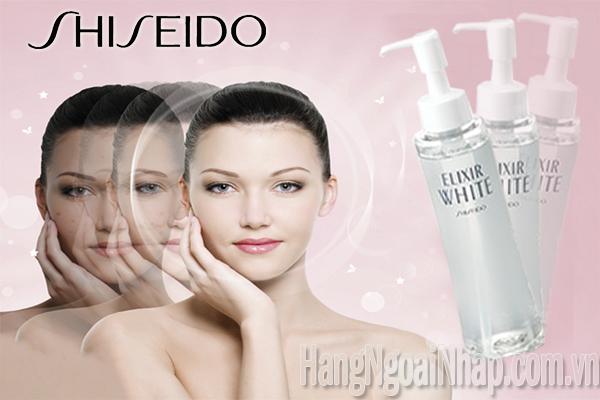 Dầu Tẩy Trang Của Nhật Shiseido Elixir White Cleaning Oil 145ml
