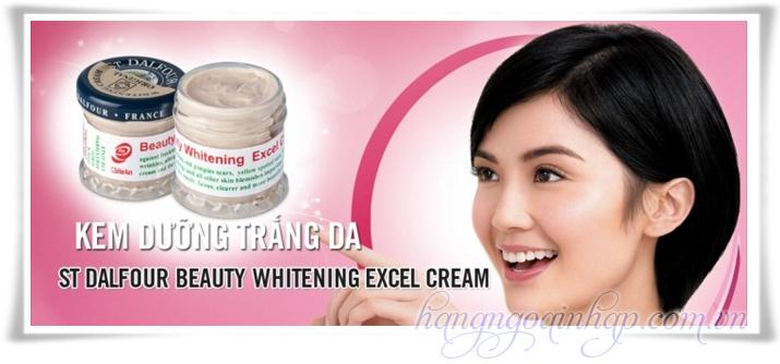 Kem Dưỡng Trắng Da Beauty Whitening Excel Cream Hộp 50g