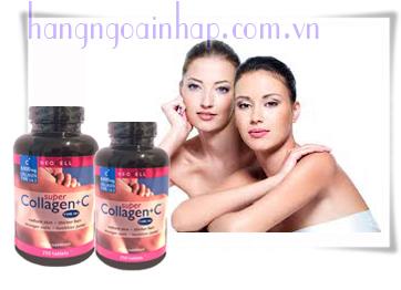 Viên Uống Đẹp Da Super Collagen +C 250 Viên Chống Lão Hóa