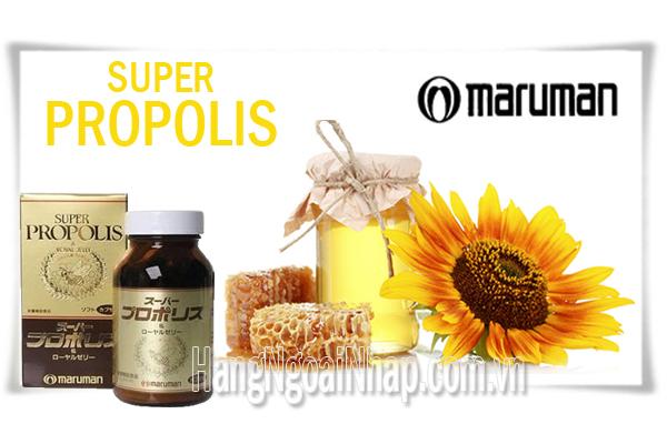 Sữa Ong Chúa Maruman Super Propolis Royal Jelly Hộp 90 Viên Của Nhật Bản