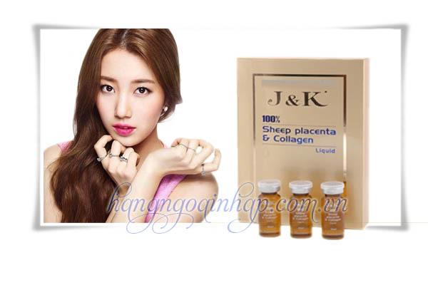 kem dưỡng da J K Sheep placenta collagen- kem dưỡng da cao cấp của Úc